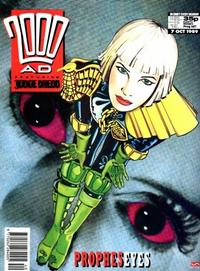 Cover for 2000 AD (Fleetway Publications, 1987 series) #647
