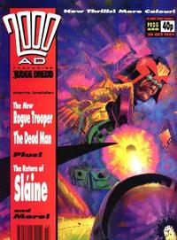 Cover for 2000 AD (Fleetway Publications, 1987 series) #650