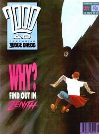 Cover Thumbnail for 2000 AD (Fleetway Publications, 1987 series) #653