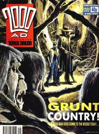 Cover for 2000 AD (Fleetway Publications, 1987 series) #656
