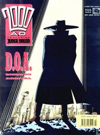 Cover Thumbnail for 2000 AD (Fleetway Publications, 1987 series) #662