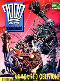 Cover for 2000 AD (Fleetway Publications, 1987 series) #677