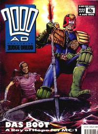 Cover Thumbnail for 2000 AD (Fleetway Publications, 1987 series) #690