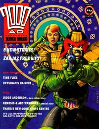 Cover Thumbnail for 2000 AD (Fleetway Publications, 1987 series) #700