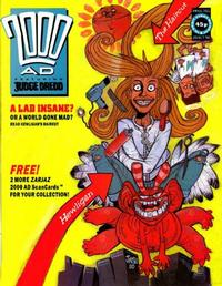 Cover Thumbnail for 2000 AD (Fleetway Publications, 1987 series) #701
