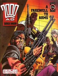 Cover Thumbnail for 2000 AD (Fleetway Publications, 1987 series) #705