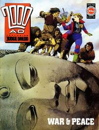 Cover Thumbnail for 2000 AD (Fleetway Publications, 1987 series) #708