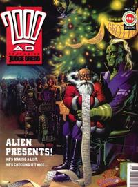 Cover Thumbnail for 2000 AD (Fleetway Publications, 1987 series) #710