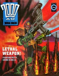 Cover Thumbnail for 2000 AD (Fleetway Publications, 1987 series) #716