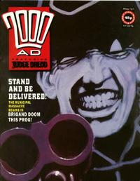 Cover Thumbnail for 2000 AD (Fleetway Publications, 1987 series) #717