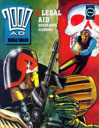 Cover Thumbnail for 2000 AD (Fleetway Publications, 1987 series) #720