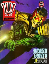 Cover for 2000 AD (Fleetway Publications, 1987 series) #724
