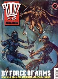 Cover Thumbnail for 2000 AD (Fleetway Publications, 1987 series) #726