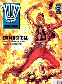 Cover for 2000 AD (Fleetway Publications, 1987 series) #729