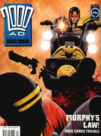 Cover for 2000 AD (Fleetway Publications, 1987 series) #731