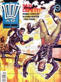 Cover Thumbnail for 2000 AD (Fleetway Publications, 1987 series) #732
