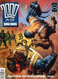 Cover Thumbnail for 2000 AD (Fleetway Publications, 1987 series) #734