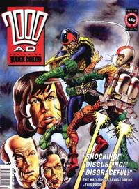 Cover for 2000 AD (Fleetway Publications, 1987 series) #739