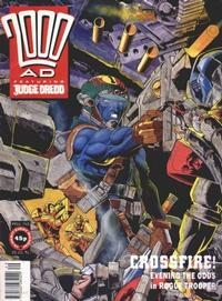Cover Thumbnail for 2000 AD (Fleetway Publications, 1987 series) #740