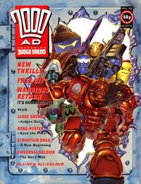 Cover Thumbnail for 2000 AD (Fleetway Publications, 1987 series) #750