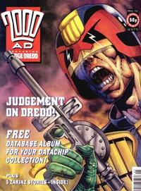 Cover for 2000 AD (Fleetway Publications, 1987 series) #752
