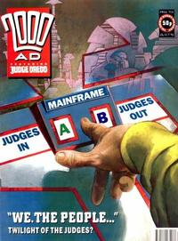 Cover Thumbnail for 2000 AD (Fleetway Publications, 1987 series) #754