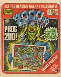 Cover Thumbnail for 2000 AD (IPC, 1977 series) #200