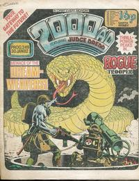 Cover Thumbnail for 2000 AD (IPC, 1977 series) #249