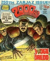 Cover Thumbnail for 2000 AD (IPC, 1977 series) #250