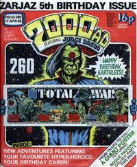 Cover Thumbnail for 2000 AD (IPC, 1977 series) #260