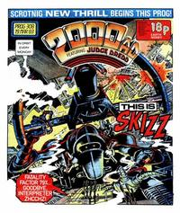Cover for 2000 AD (IPC, 1977 series) #308