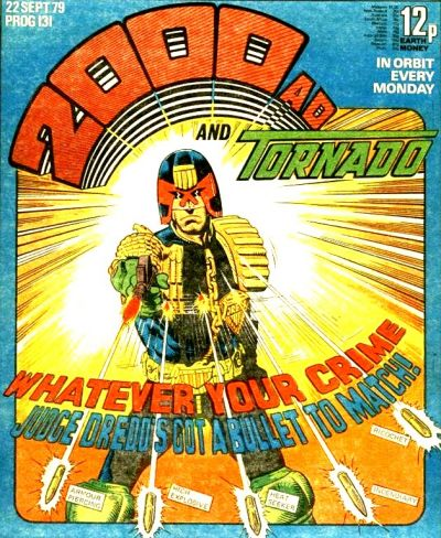 Cover for 2000 AD and Tornado (IPC, 1979 series) #131