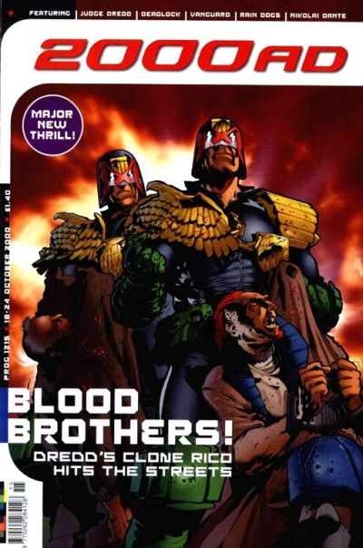 Cover for 2000 AD (Egmont UK, 2000 series) #1215