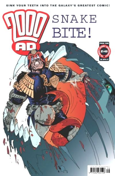 Cover for 2000 AD (Egmont UK, 2000 series) #1239
