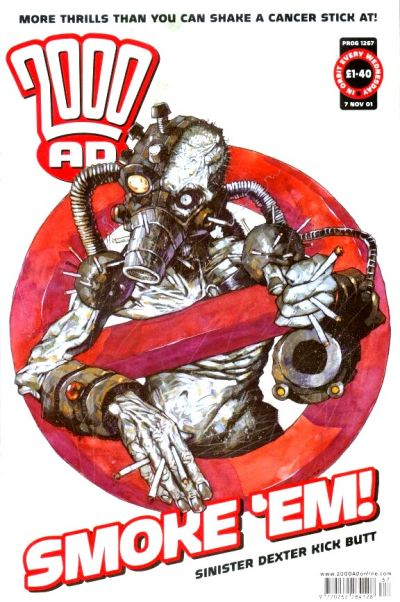 Cover for 2000 AD (Rebellion, 2001 series) #1267