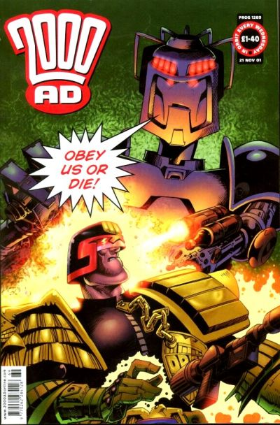 Cover for 2000 AD (Rebellion, 2001 series) #1269