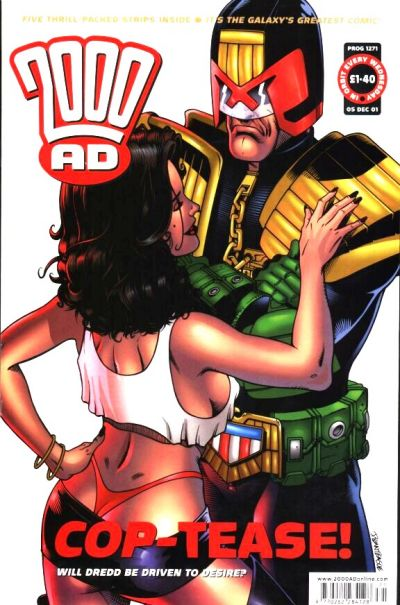 Cover for 2000 AD (Rebellion, 2001 series) #1271