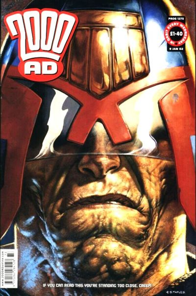Cover for 2000 AD (Rebellion, 2001 series) #1273