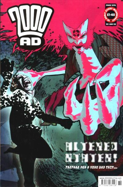 Cover for 2000 AD (Rebellion, 2001 series) #1276