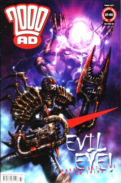 Cover for 2000 AD (Rebellion, 2001 series) #1277