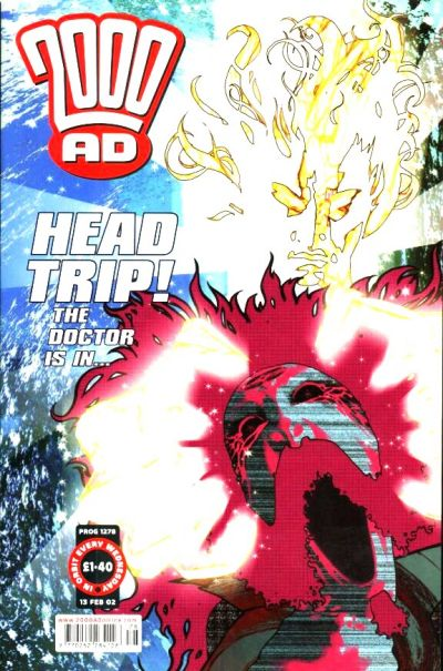Cover for 2000 AD (Rebellion, 2001 series) #1278