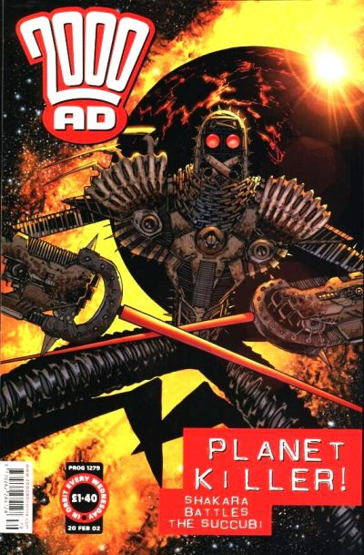 Cover for 2000 AD (Rebellion, 2001 series) #1279