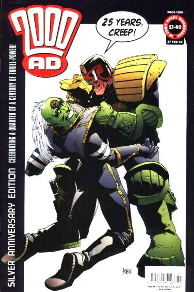 Cover for 2000 AD (Rebellion, 2001 series) #1280