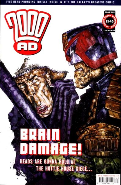 Cover for 2000 AD (Rebellion, 2001 series) #1283