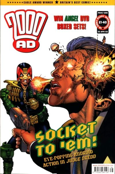 Cover for 2000 AD (Rebellion, 2001 series) #1286