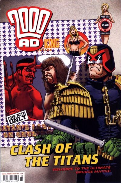 Cover for 2000 AD (Rebellion, 2001 series) #1288