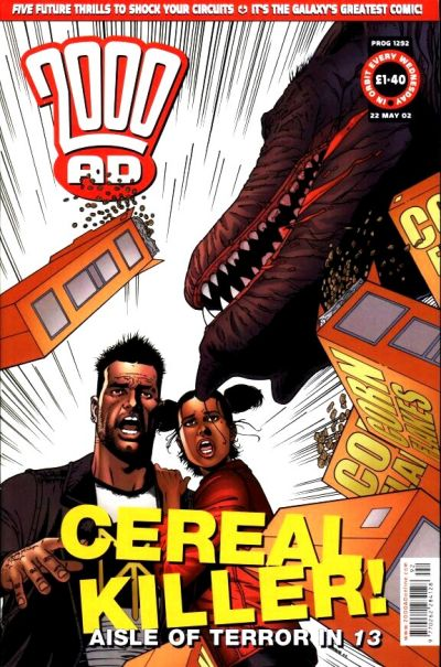 Cover for 2000 AD (Rebellion, 2001 series) #1292