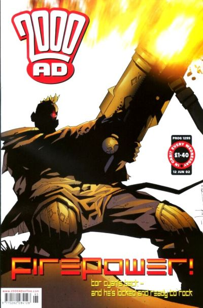 Cover for 2000 AD (Rebellion, 2001 series) #1295
