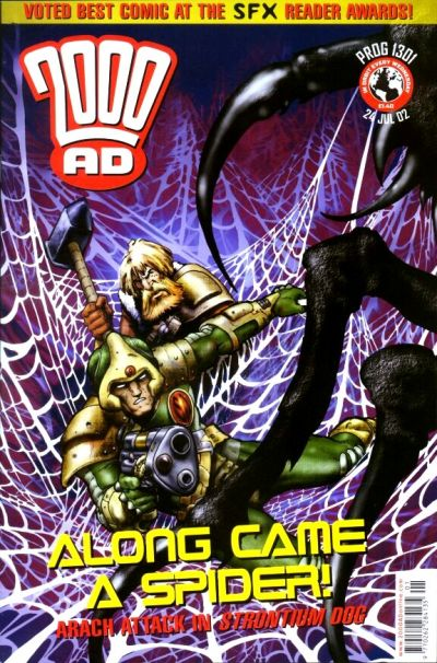 Cover for 2000 AD (Rebellion, 2001 series) #1301