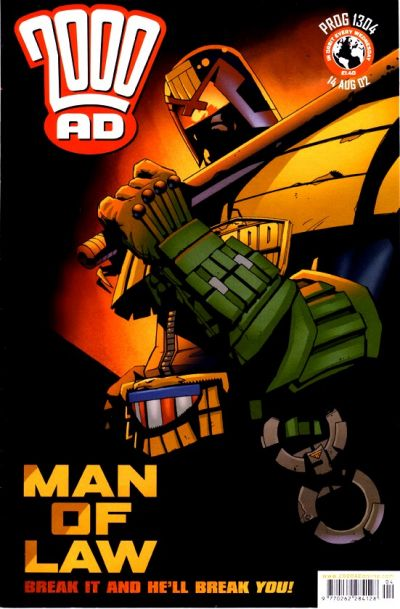 Cover for 2000 AD (Rebellion, 2001 series) #1304